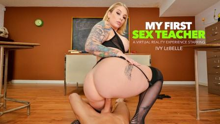 My First Sex Teacher Busty professor Ivy LeBelle